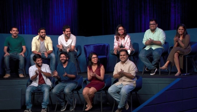 The 10 contestants of<i>Comicstaan.</i>