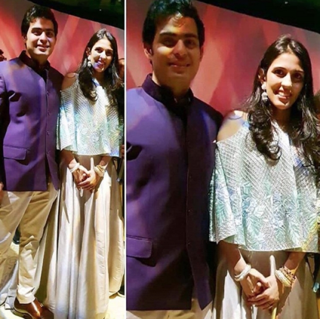 Soon to be wedded, Akash and Shloka Ambani also dropped by!