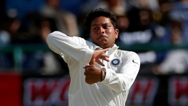 If Kuldeep Yadav is the spinner on the field, he won't just contain runs, he'll look to pick up wickets.