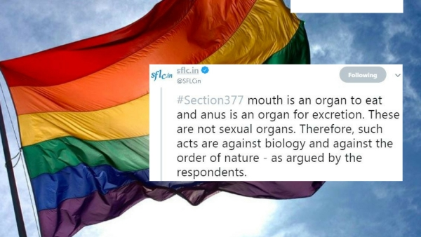 """Mouth is an organ to eat and anus is an organ for excretion,"" argued the respondents in the SC during Section 377 hearings."