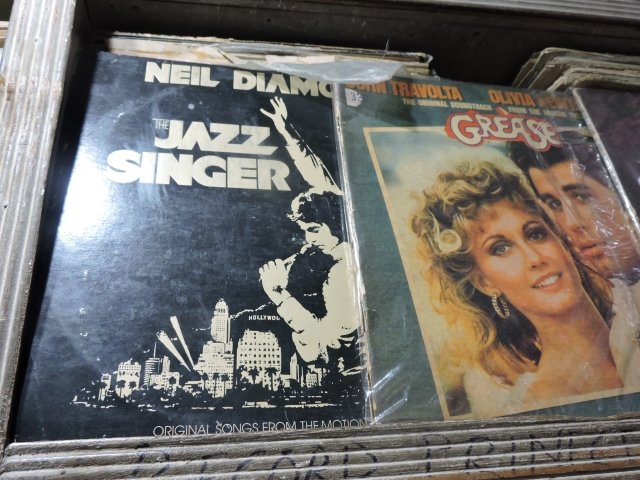 Record containing Neil Diamond's 1980 album The Jazz Singer, 1980, which served as the soundtrack album to the 1980 remake of the film by the same name.