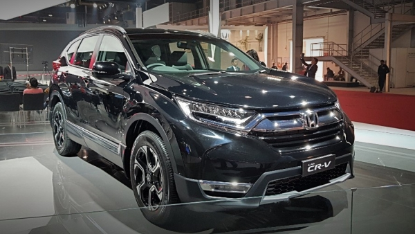 The Honda CR-V will be launched this festive season.