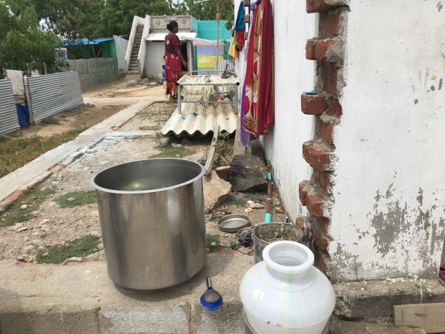 After villagers alleged that the water was not fit for drinking, the local administration changed the pump systems to ensure supply of clean water.