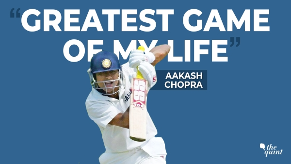 Former India cricketer Aakash Chopra recalls the Adelaide Test against Australia in 2003 as part of The Quint's podcast series 'The Greatest Game of My Life'.
