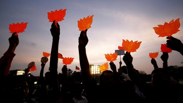 With Cong's 3-State Win, BJP's Presence Shrinks on the Indian Map