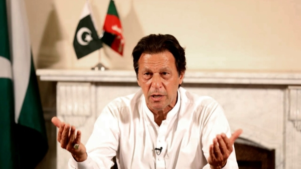 In his very first speech after the PTI's election victory, Imran Khan struck conciliatory notes with both the US and India.