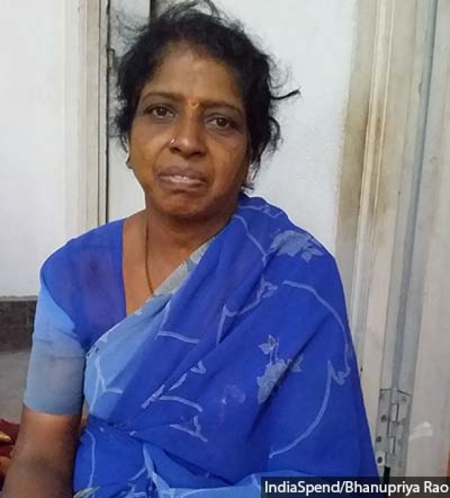 Rani Muniyakanu, who fought a long legal campaign against the sand mafia, contested state assembly elections on an independent ticket in 2011.
