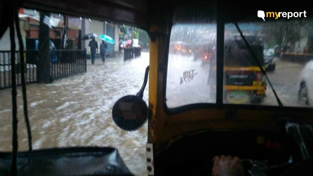 Getting rides near Thane station is also difficult during monsoon.
