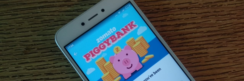 Zomato launches piggybank what does it offer how to join the quint zomatos new reward points service will give 10 percent of the orders value in credits stopboris Image collections