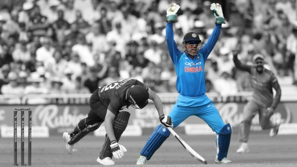 MS Dhoni became the 4th Indian cricketer to score 10000 runs in ODIs.