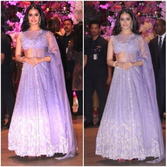 Shraddha Kapoor also followed suit as she stood out amidst a range of golden girls at the recently held Ambani bash in Mumbai.