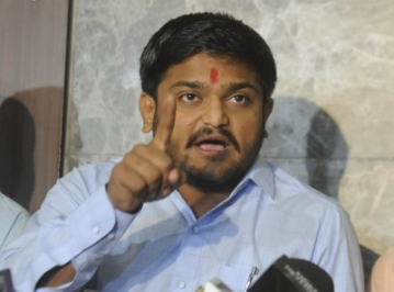 Anamat Andolan Samiti (PAAS) leader Hardik Patel. (File Photo: IANS)