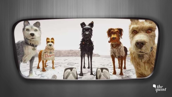 A still from <i>Isle of Dogs</i>.