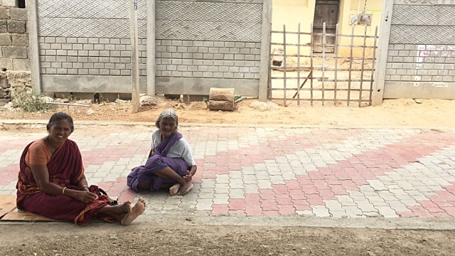 It has been a month since her husband was arrested. Raji waits every day under the neem tree.