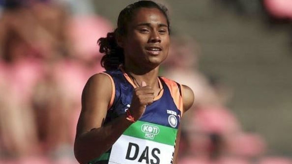 File photo of Hima Das.