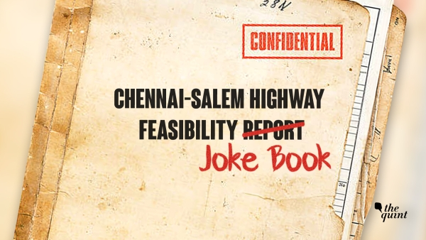 Chennai-Salem Highway: Top 5 Jokes in the Feasibility Report