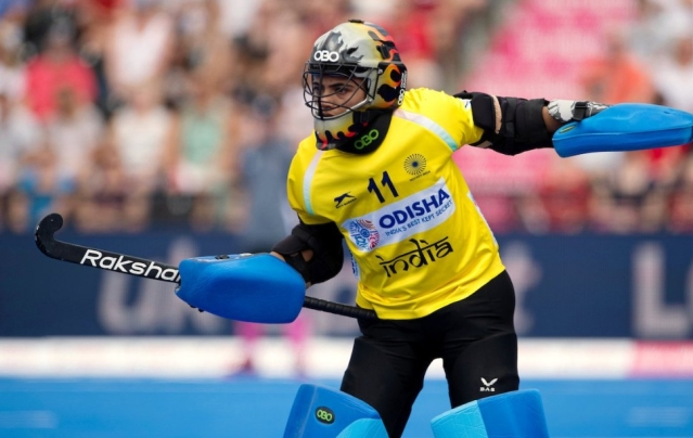 Savita Punia stole the limelight with some brilliant saves to keep England at bay.