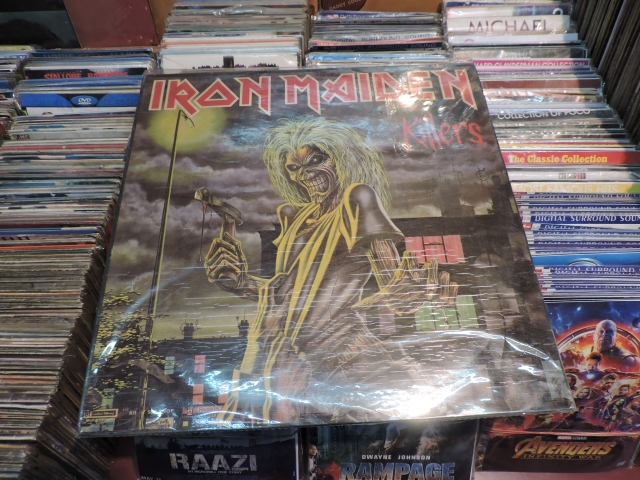 "A limited edition Iron Maiden album, ""Killers"" which was released in 1981 and is a collector's item."