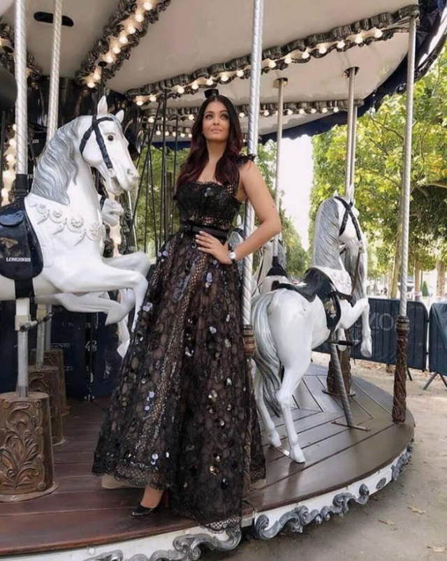 Aishwarya Rai is in Paris to shoot for a brand she endorses.
