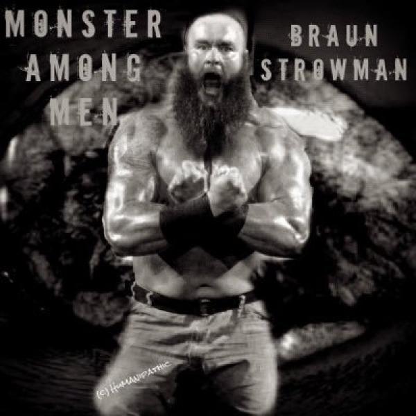Braun Strowman. (Photo: Twitter/@BraunStrowman)