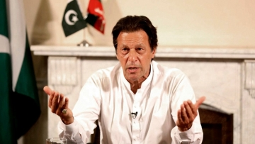 Pakistan Tehreek-e-Insaf chairman Imran Khan.