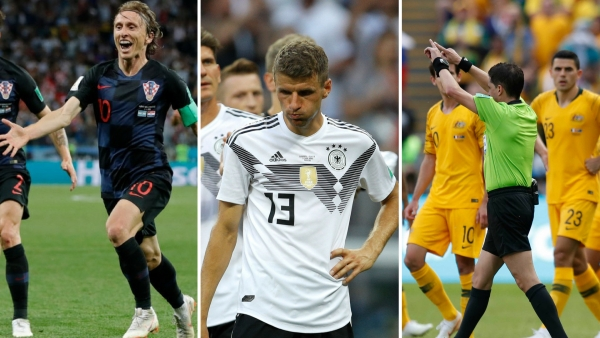 Some remarkable moments from the FIFA World Cup 2018.