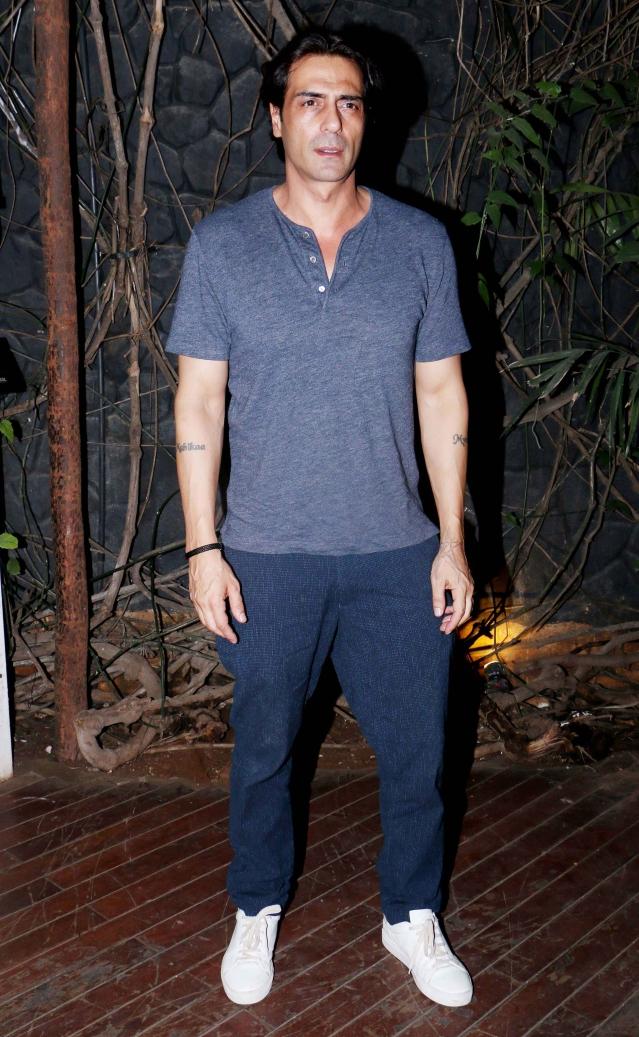 Arjun Kapoor attended the <i>Kedarnath </i>wrap up party.