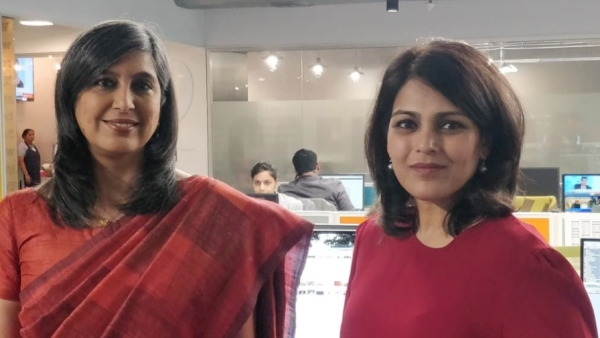 "Monika Halan, the author of ""Let's talk money"" with BloombergQuint's Managing Editor Menaka Doshi."