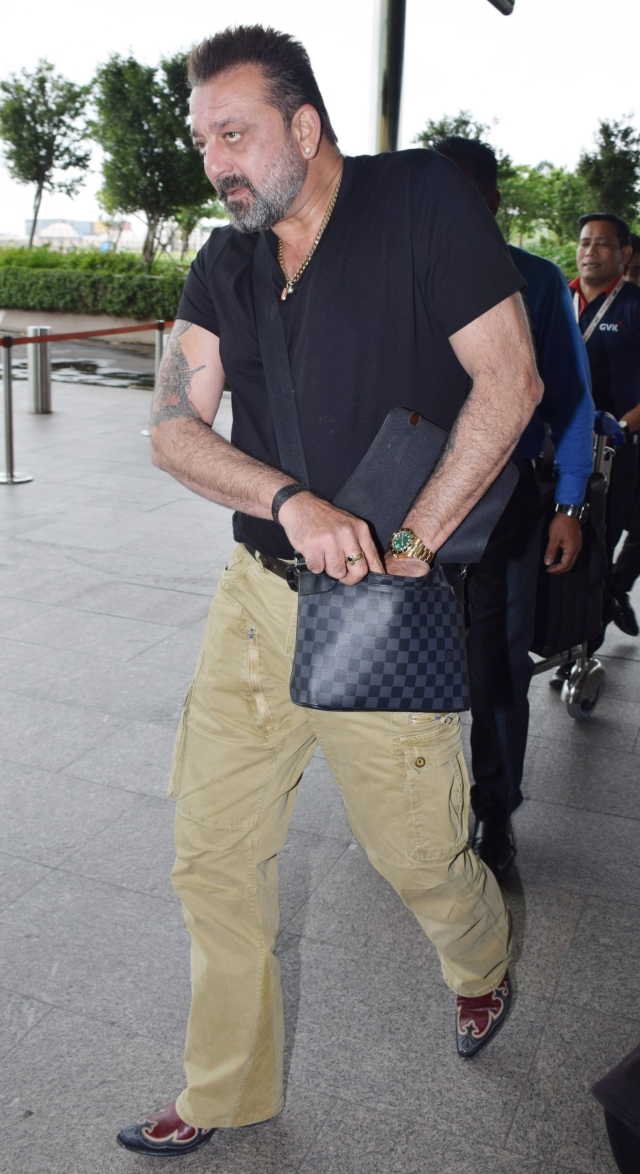 Sanjay Dutt takes off after the release of 'Sanju'.