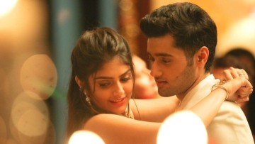 Utkarsh Sharma and Ishita Chauhan in a still from <i>Genius</i>.