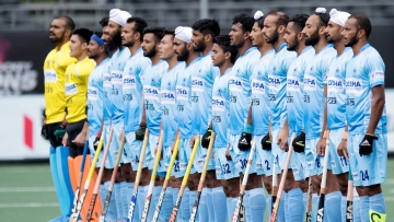 The Indian hockey team jumped a place to fifth in the men's world rankings issued by FIH.