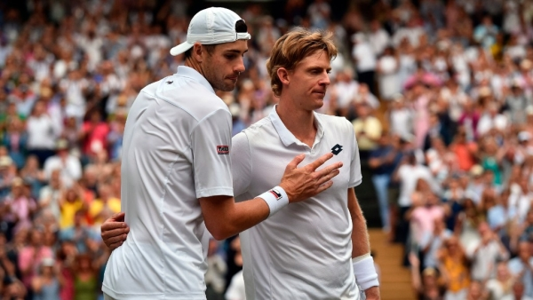 After the longest semi-final in Wimbledon history, both the victor and vanquished were physically and mentally exhausted