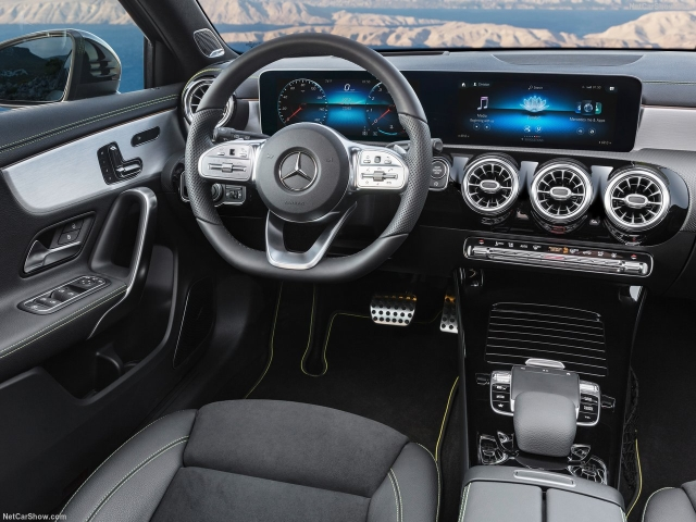 It will be loaded with tech, with the most significant update being the dual screen setup on the dashboard as seen on other new Mercedes models