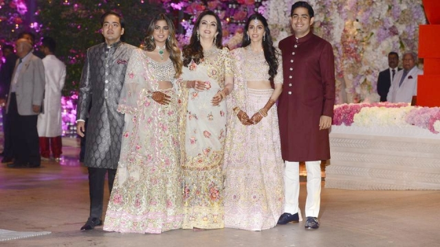 The three-day grand affair at Mukesh Ambani's Altamount Road residence, Antilia in south Mumbai welcomed some of the biggest names from Bollywood, politics and cricket.