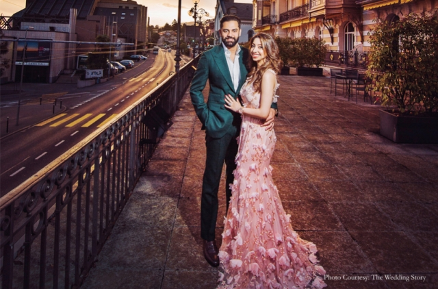 The couple Rajiv Varma and Tanya Ganwani looks stunning.