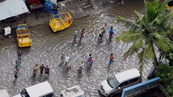 The 2015 Chennai floods caused a huge loss of life and property.