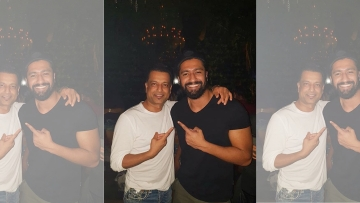 The reel Kamli, Vicky Kaushal just met the real Kamli, Paresh Ghelani.