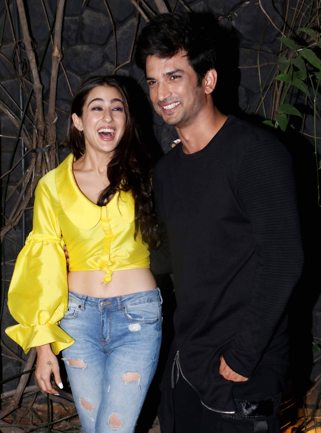 Sara and Sushant are all smiles as<i>Kedarnath </i>is finally done!
