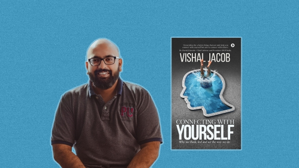 Vishal Jacob and his book 'Connecting With Yourself'