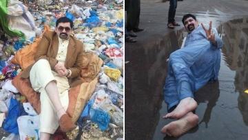 Pakistani politician Ayaz Memon Motiwala