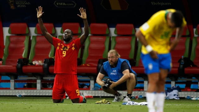 Lukaku along with De Bruyne was largely responsible for setting up Belgium's attack.