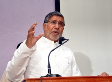 Nobel Peace Laureate Kailash Satyarthi. (Photo: IANS)