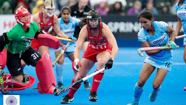 The Indian women's hockey team held USA to a 1-1 draw on Sunday.