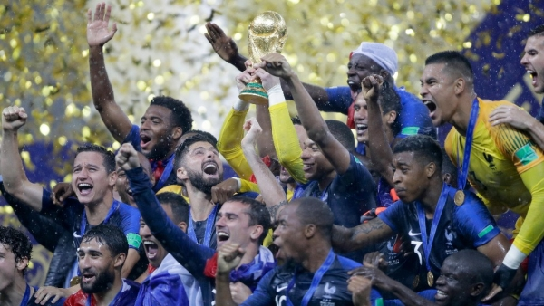 World Cup winners France had stellar performances from their biggest stars on the biggest stage in football