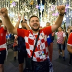 Croatian and English Fans React to World Cup Semi-Final in Moscow