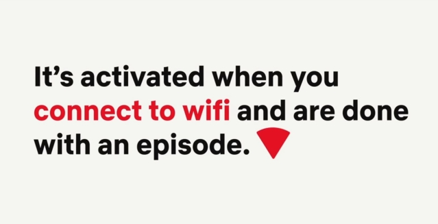 Only works if you're connected to Wi-Fi.