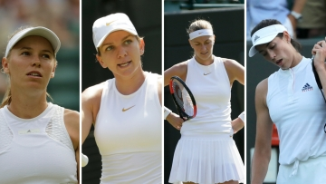 The top 10 seeded players in the women's draw have been knocked out of Wimbledon 2018.