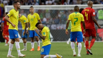 In five matches, Brazil scored only eight times this World Cup.