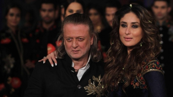 Rohit Bal and with his star showstopper Kareena Kapoor Khan.