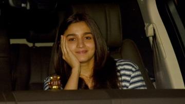 Alia Bhatt keeps it cool.